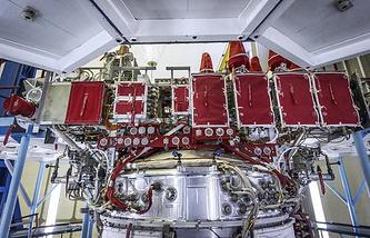 Glonass-M navigation satellite