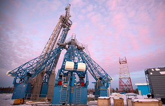 Vostochny cosmodrome construction site