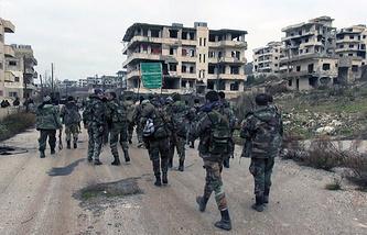 Salma in Latakia province, Syria