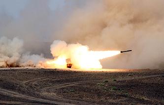 Military drills in Jordan (archive)