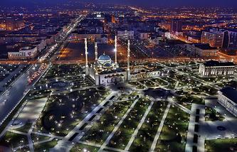 The city of Grozny