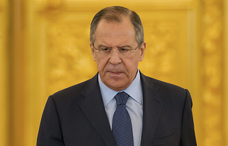 Russian Foreign Minister Sergey Lavrov i