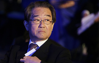 Japan's Ambassador to Russia Harada Tikahito