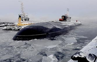Vladimir Monomakh nuclear submarine