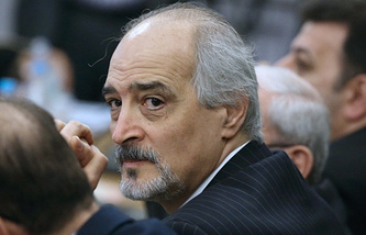 Syria ambassador to the UN Bashar Jaafari
