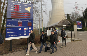 Nuclear plant in Tihange
