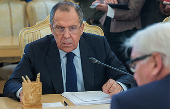 Russian Foreign Minister Sergey Lavrov