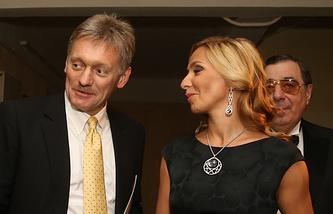 Dmitry Peskov and Tatiana Navka