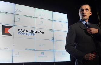 Kalashnikov concern CEO, Alexey Krivoruchko