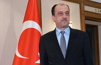 Turkish Ambassador to Russia Umit Yardym
