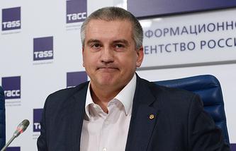 Crimean head Sergey Aksyonov