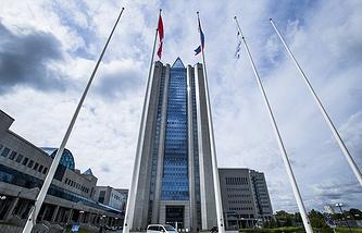 Headquarters of Gazprom