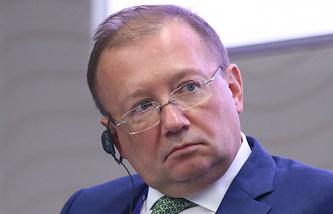 Russia's Ambassador to the UK Alexander Yakovenko
