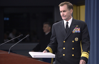 U.S. State Department spokesman John Kirby