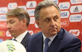 Russia's Sport Minister Vitaly Mutko