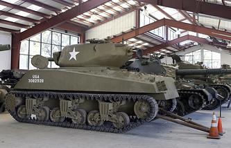 US Sherman tank