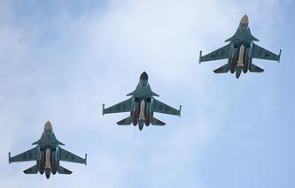 Su-34 fighter-bombers