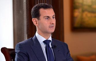 Syrian President Bashar al-Assad