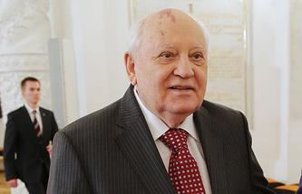 Ex-Soviet leader Mikhail Gorbachev