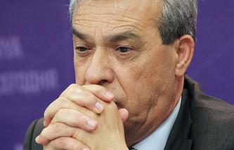 Palestine's Ambassador to Russia Abdel Hafez Nofal