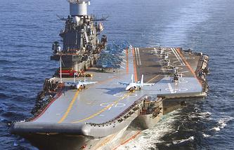 The Admiral Kuznetsov
