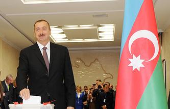 Ilham Aliyev (archive)