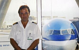 Russian pilot Konstantin Yaroshenko