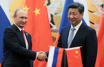 Russian President Vladimir Putin and Chinese President Xi Jinping
