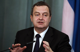 Serbian Foreign Minister Ivica Dacic