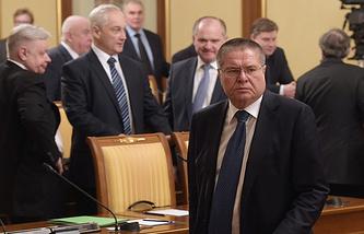 Alexey Ulyukayev (front)