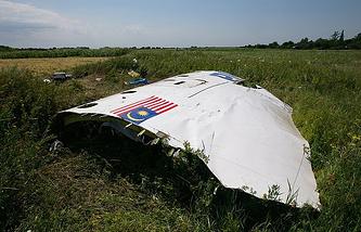 MH17 debris