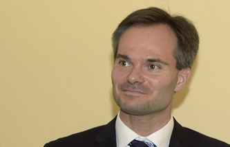 Foreign Trade and Development Minister Kai Mykkanen