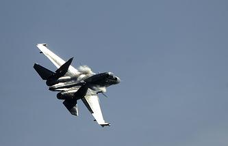 Su-30 fighter jet