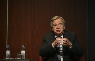 UN Secretary General Designate Antonio Guterres