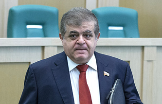 First Deputy Chairman of the Russian Federation Committee's International Affairs Committee Vladimir Dzhabarov