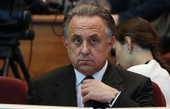 Russian Sports Minister Vitaly Mutko