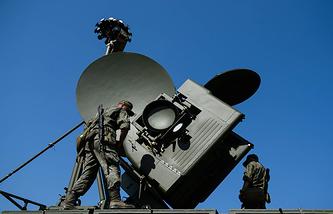 Krasukha-4 ground-based electronic warfare system