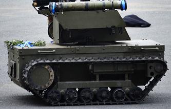 Russia's combat robot