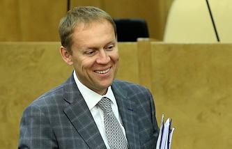 Russia's Democratic Party MP,  Andrei Lugovoi