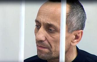 Former policeman Mikhail Popkov