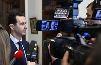 Syria's President Bashar Assad