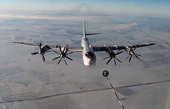 Tupolev Tu-95MS long-range strategic bomber