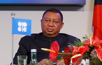 OPEC Secretary-General Mohammed Barkindo