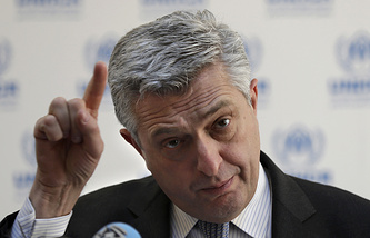 UN High Commissioner for Refugees Filippo Grandi