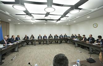 Syrian talks in Geneva