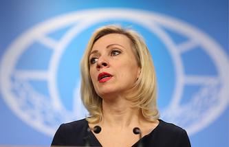 Russian Foreign Ministry Spokeswoman, Maria Zakharova