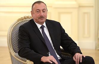 Azerbaijani President Ilkham Aliyev