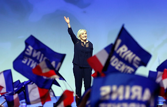 France's National Front leader, Marine Le Pen