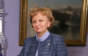 Zinaida Greceanii, head of the Party of Socialists' faction in parliament of Moldova