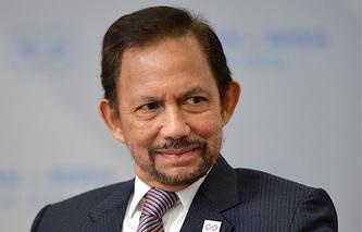 Sultan of Brunei Darussalam Hassanal Bolkiah